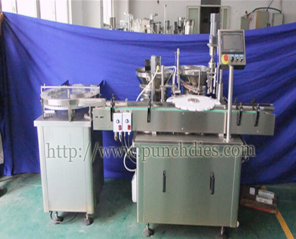 vial/penicillin filling capping machine