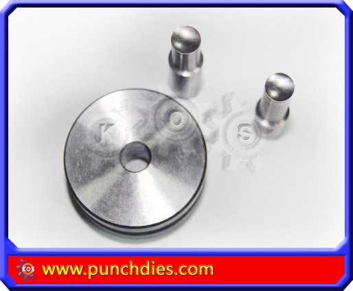 tdp 8mm Concaved Blank Round dies