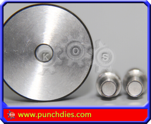 6mm Bevel Edged Blank Round pill dies tdp 5