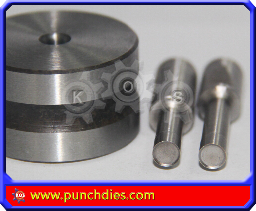 6mm Bevel Edged Blank Round dies tdp 5