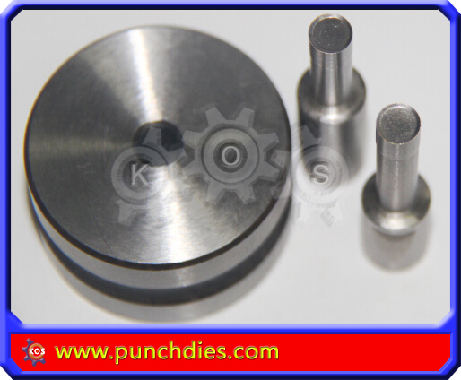 6mm Bevel Edged Blank Round pill dies