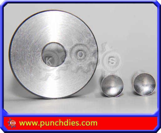 10mm Concaved Blank Round dies tdp 6
