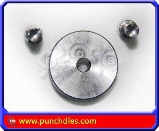 7mm Concaved Blank Round dies