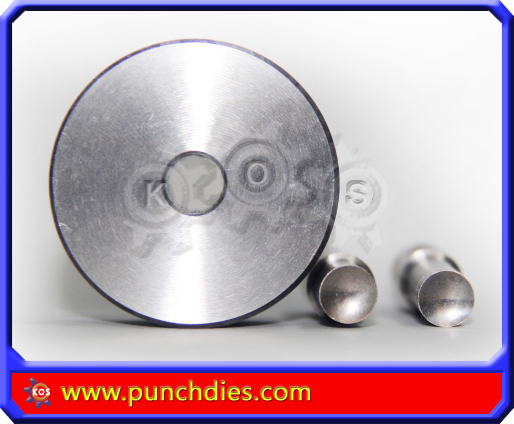 8mm Concaved Blank Round dies
