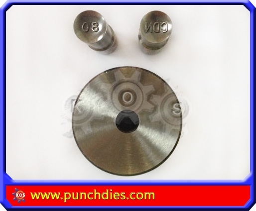 9mm CDN80 pill press dies set