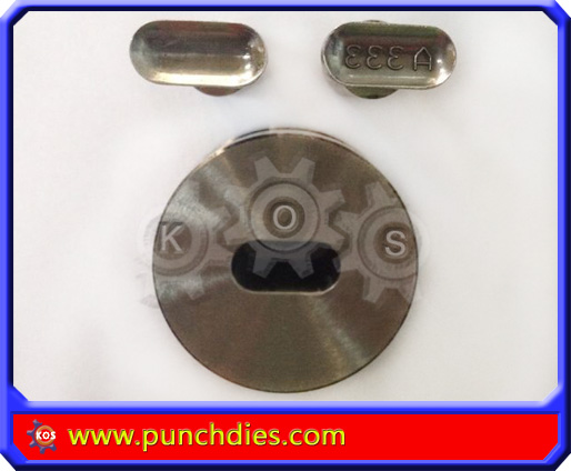 15mm * 7mm A333 pill press dies set
