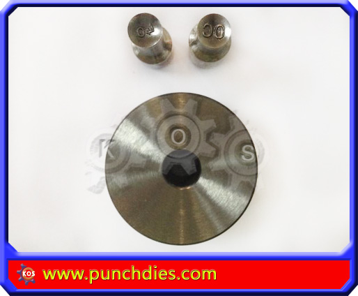 7mm OC 40 pill press dies set