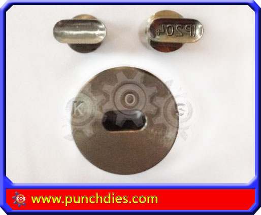 11mm*5mm IP204 pill press dies set