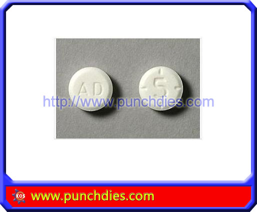 AD5 pill press dies set