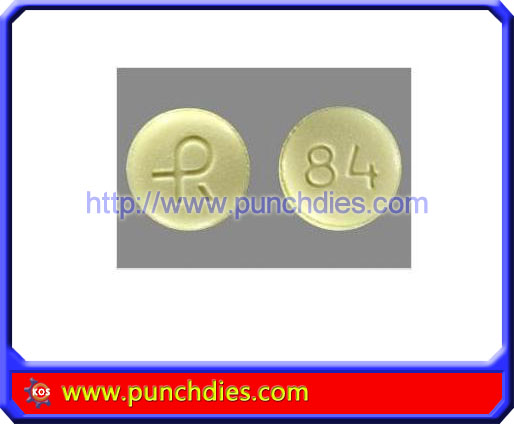 R84 pill press dies set