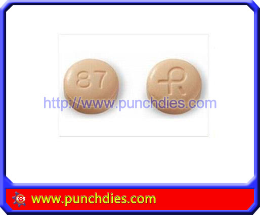 R87 pill press dies set