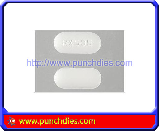 RX505 pill press dies set