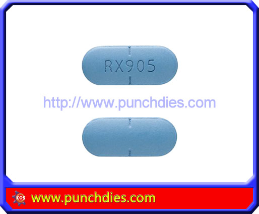 RX905 pill press dies set