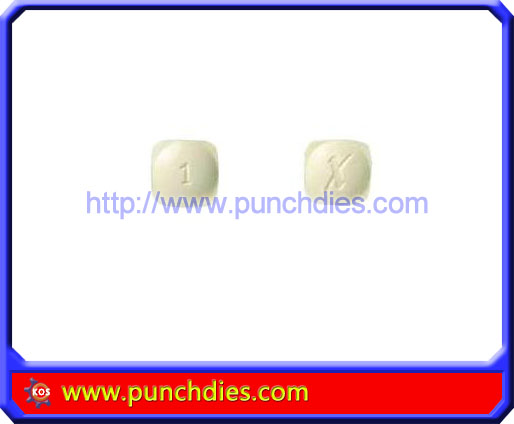 X1 pill press dies set