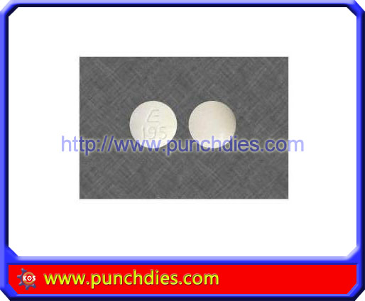 E195 pill press dies set