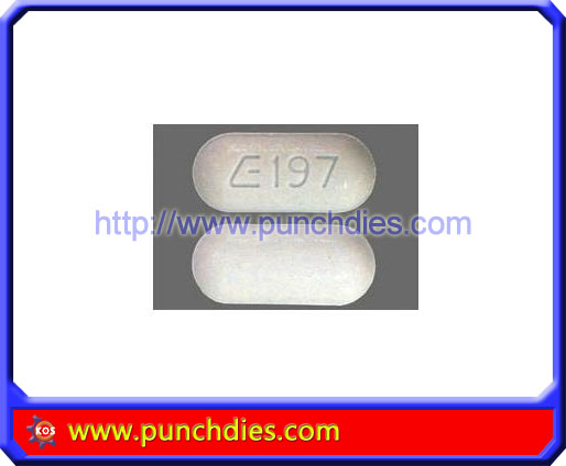 E197 pill press dies set