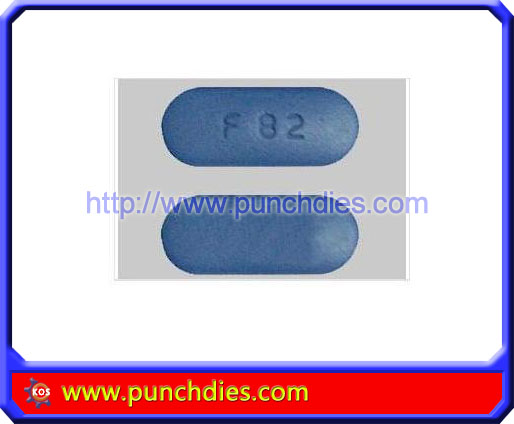 F 82 pill press dies set