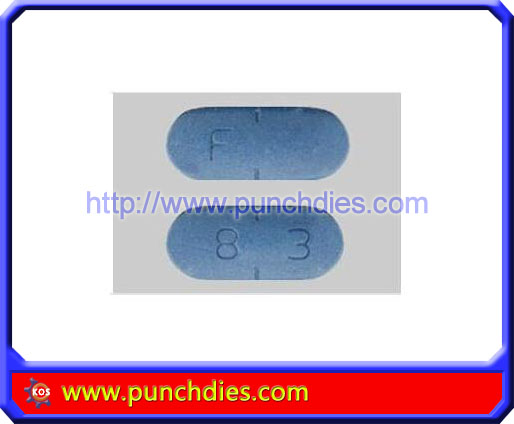 F 83 pill press dies set