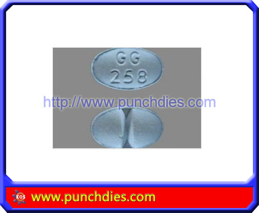 GG258 pill press dies set