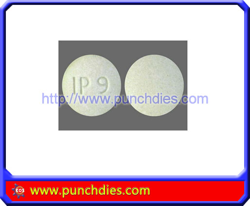 IP9 pill press dies set