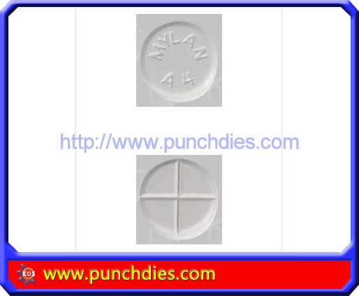 MYLAN A4 pill press dies set