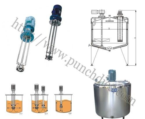 kos emulsifying machine